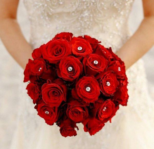 بوكية ورد احمر صور مجموعه من الزهور الحمراء تعبر عن الحب و