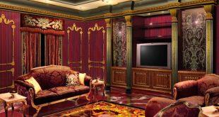 صور غرف استقبال مودرن , احدث التصميمات المميزة لغرف استضافه الضيوف