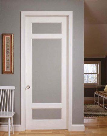 صورة ابواب المنيوم داخلية , اجمل ابواب من الومنيوم مودرن للحمام والمطبخ 2783 5