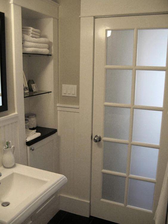صورة ابواب المنيوم داخلية , اجمل ابواب من الومنيوم مودرن للحمام والمطبخ 2783 7