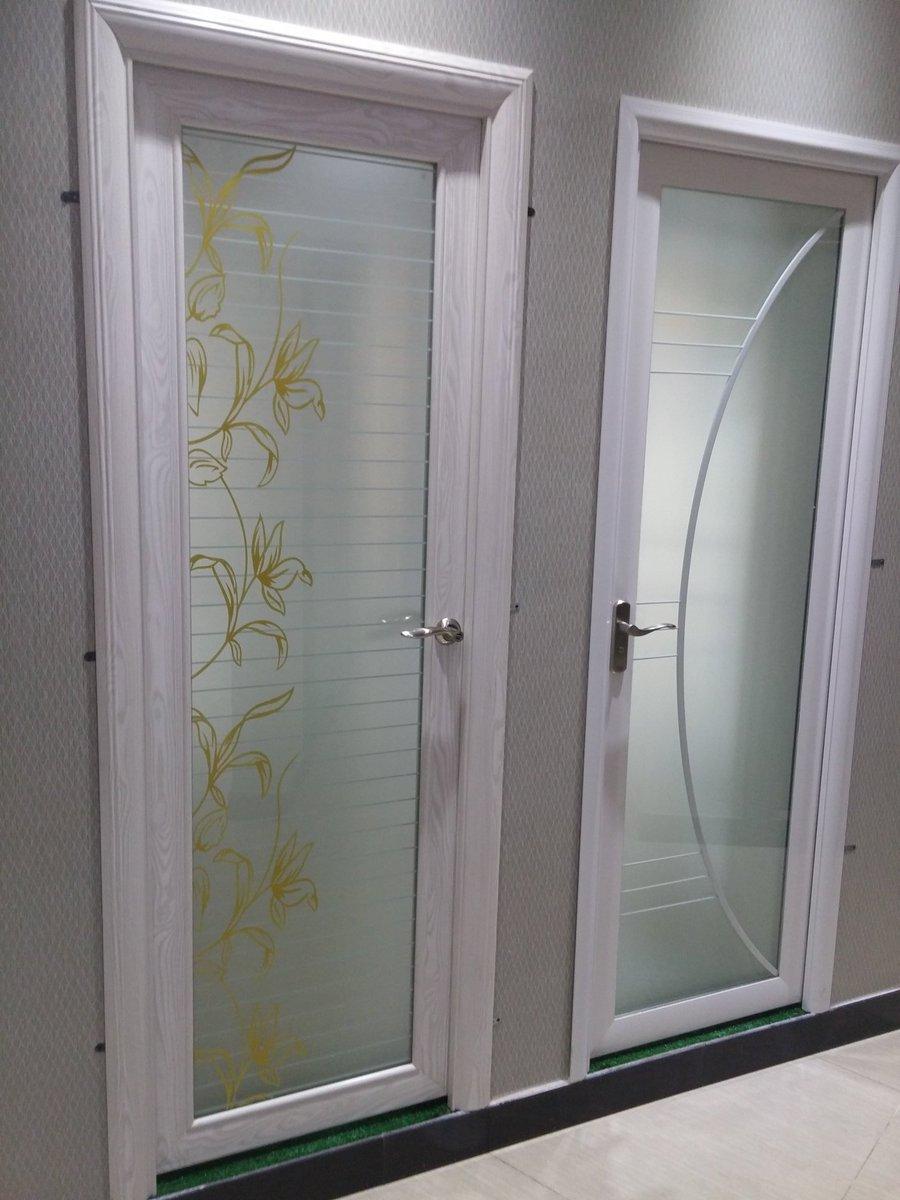 صورة ابواب المنيوم داخلية , اجمل ابواب من الومنيوم مودرن للحمام والمطبخ 2783 9