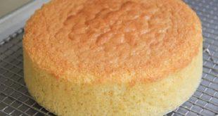 طريقة عمل الكيكة الاسفنجية , اسهل الطرق لتحضير الكيكه الاسفنجية الهاشه