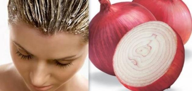 صور وصفة البصل لتكثيف الشعر , اهميه عصير البصل لزيادة نمو الشعر