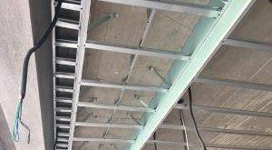صور طريقة تركيب الجبس في السقف بالصور , صور لتركيب الجبس كاسقف مستعارة