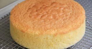 طريقة تحضير الكيكة الاسفنجية , خطوات بسيطه للحصول علي كيكه اسفنجيه ناجحه