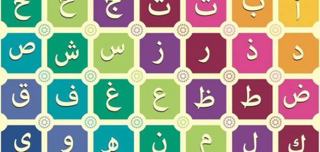 صور حروف الهجاء بالترتيب , الحروف الهجائيه في اللغه العربيه مع الترتيب