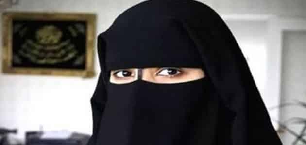 صورة رؤية لبس النقاب في المنام , تفسير العلماء لبس المراة النقاب في الحلم