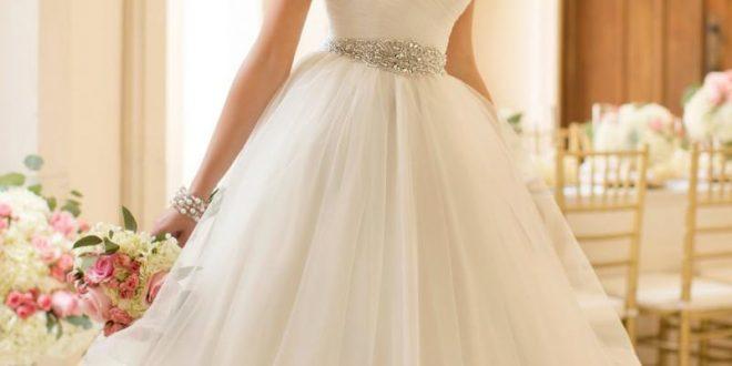 صورة احلى فساتين الزفاف , افخم تصاميم فساتين لحفل زفافك للحصول علي اطلالة مميزة