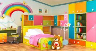 ديكورات غرف نوم اطفال مودرن , احدث تصاميم جذابه لديكور غرف نوم طفك