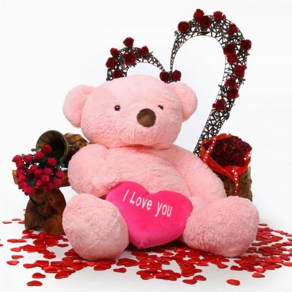 صورة صور دباديب عيد الحب , اجمل هدايا عيد الحب