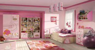 اجمل غرفة بنات في العالم , غرف نوم للبنات باللون الوردى