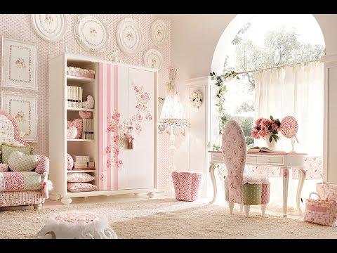 صورة اجمل غرفة بنات في العالم , غرف نوم للبنات باللون الوردى 1298 2