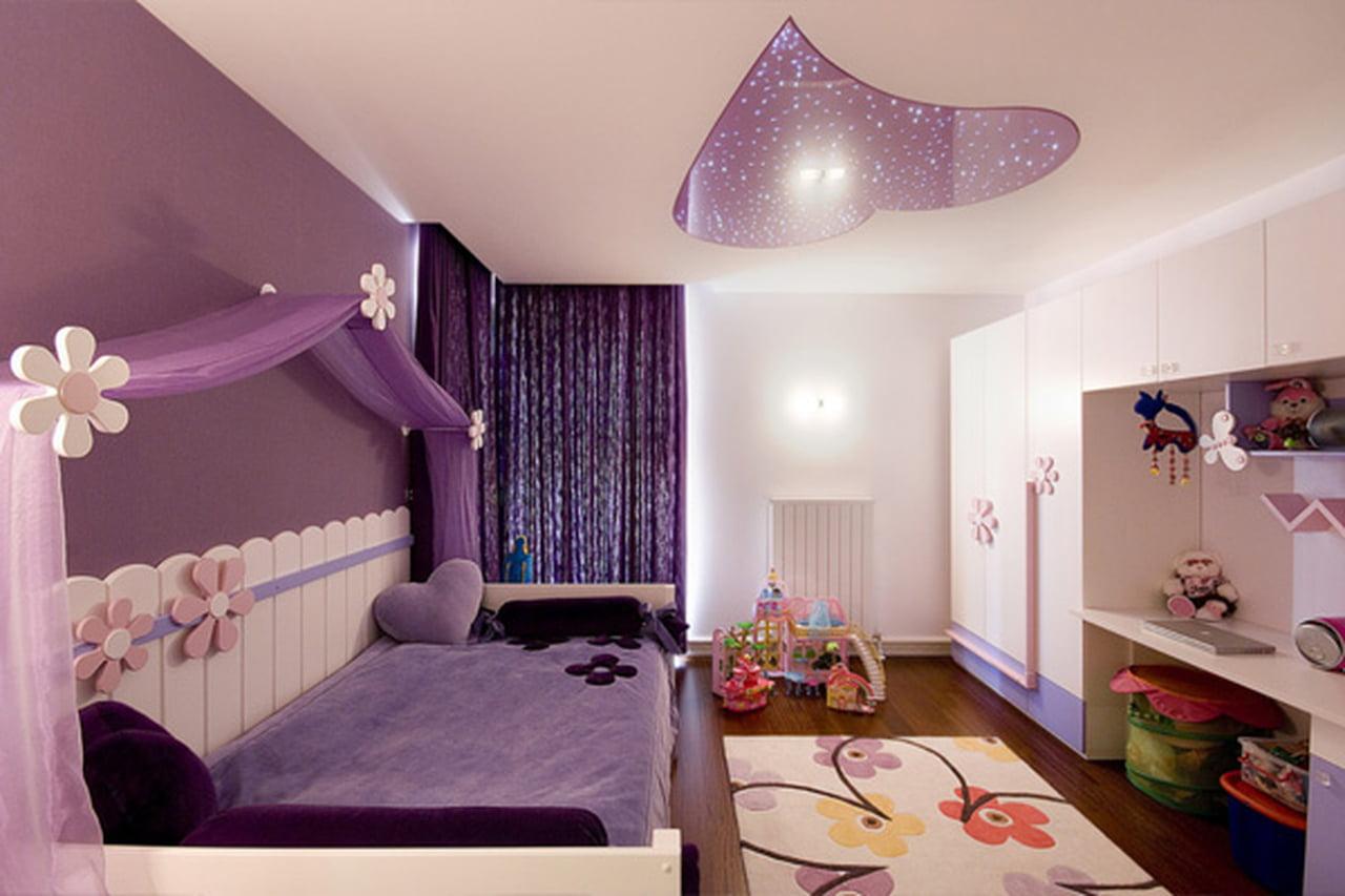 صورة اجمل غرفة بنات في العالم , غرف نوم للبنات باللون الوردى 1298 8