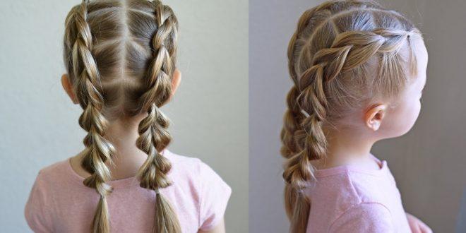 صور تسريحات شعر بنات , افكار تسريحات لشعر البنات للمدرسه