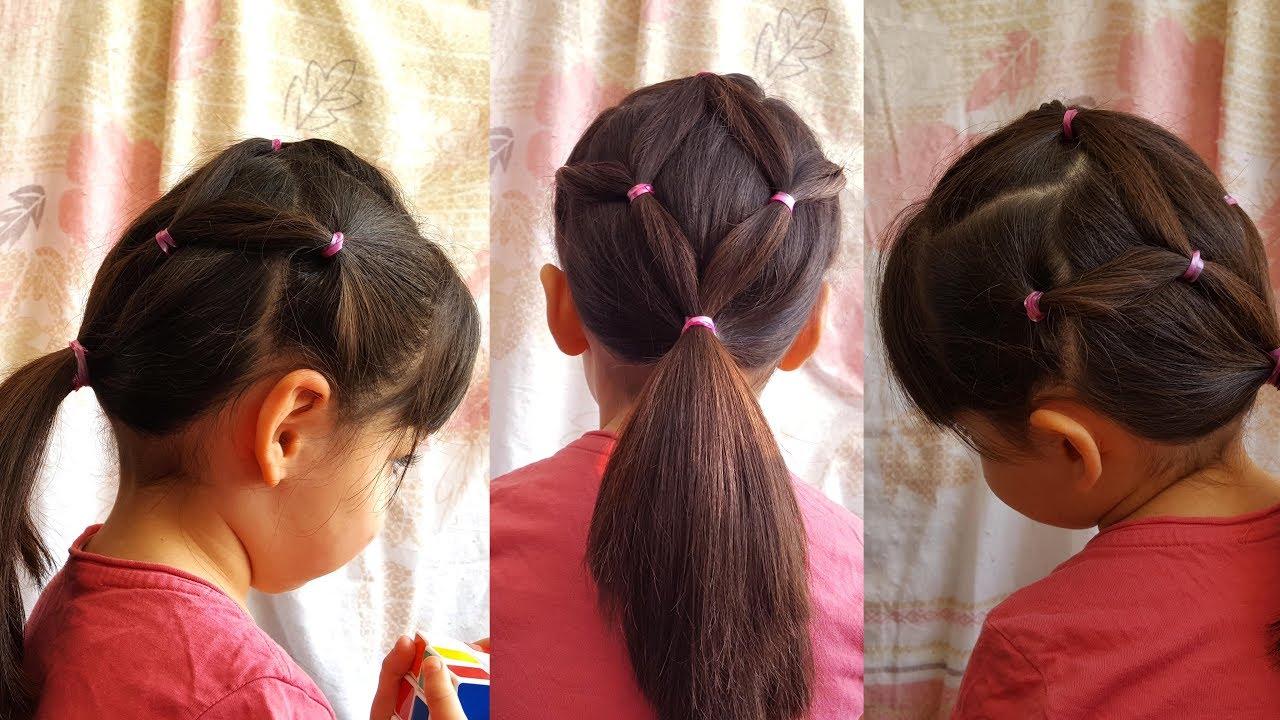 صورة تسريحات شعر بنات , افكار تسريحات لشعر البنات للمدرسه