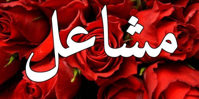 صور دلع اسم مشاعل , معني اسم مشاعل ودلعه