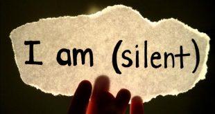 صور رمزيات عن الصمت , راحتى فى صمتى و البعد عن الكلام