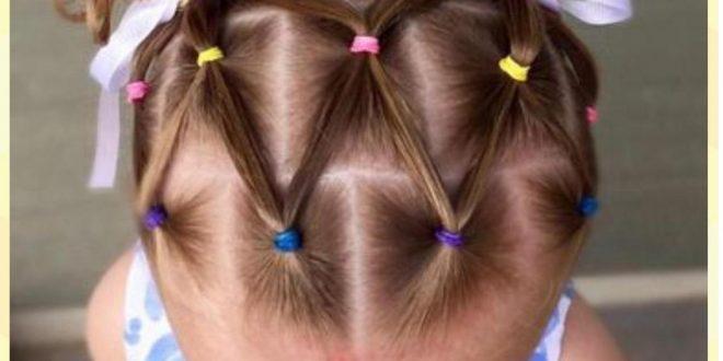 صور تسريحات شعر للاطفال للعيد , تسريحات شعر للبنوتات الصغار
