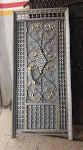 صورة ابواب حديد صاج , خام الحديد من الممكن ان يكون احلى الابواب 1042 6