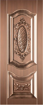 صورة ابواب حديد صاج , خام الحديد من الممكن ان يكون احلى الابواب 1042 7