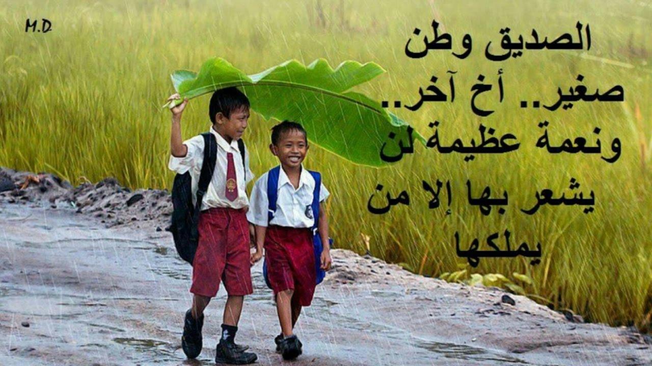 صورة اجمل كلام عن الصداقة , تمسك بصديقك المخلص لاخر العمر