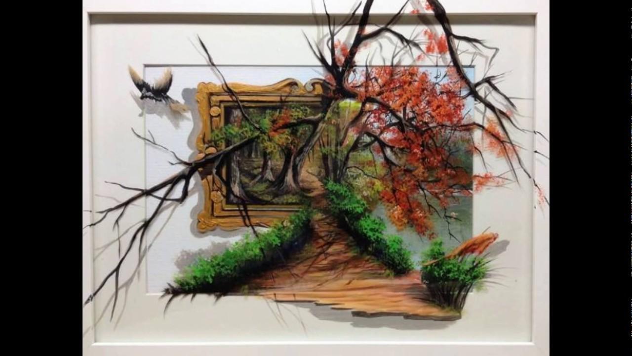صورة لوحات ثلاثية الابعاد , انبهر باحلى رسومات من اللوحات 1154 2