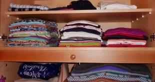 صورة تخزين الملابس بدون رائحه , افكار عمليه في تخزين الملابس