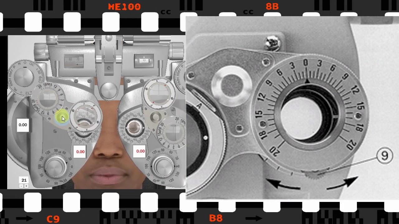 صورة جهاز فحص النظر , عيوني وجعتني ومن هنا عرفت السبب