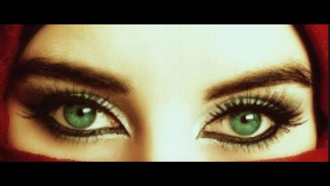 صورة العيون الخضراء شعر , صفات وجمال العيون الخضراء