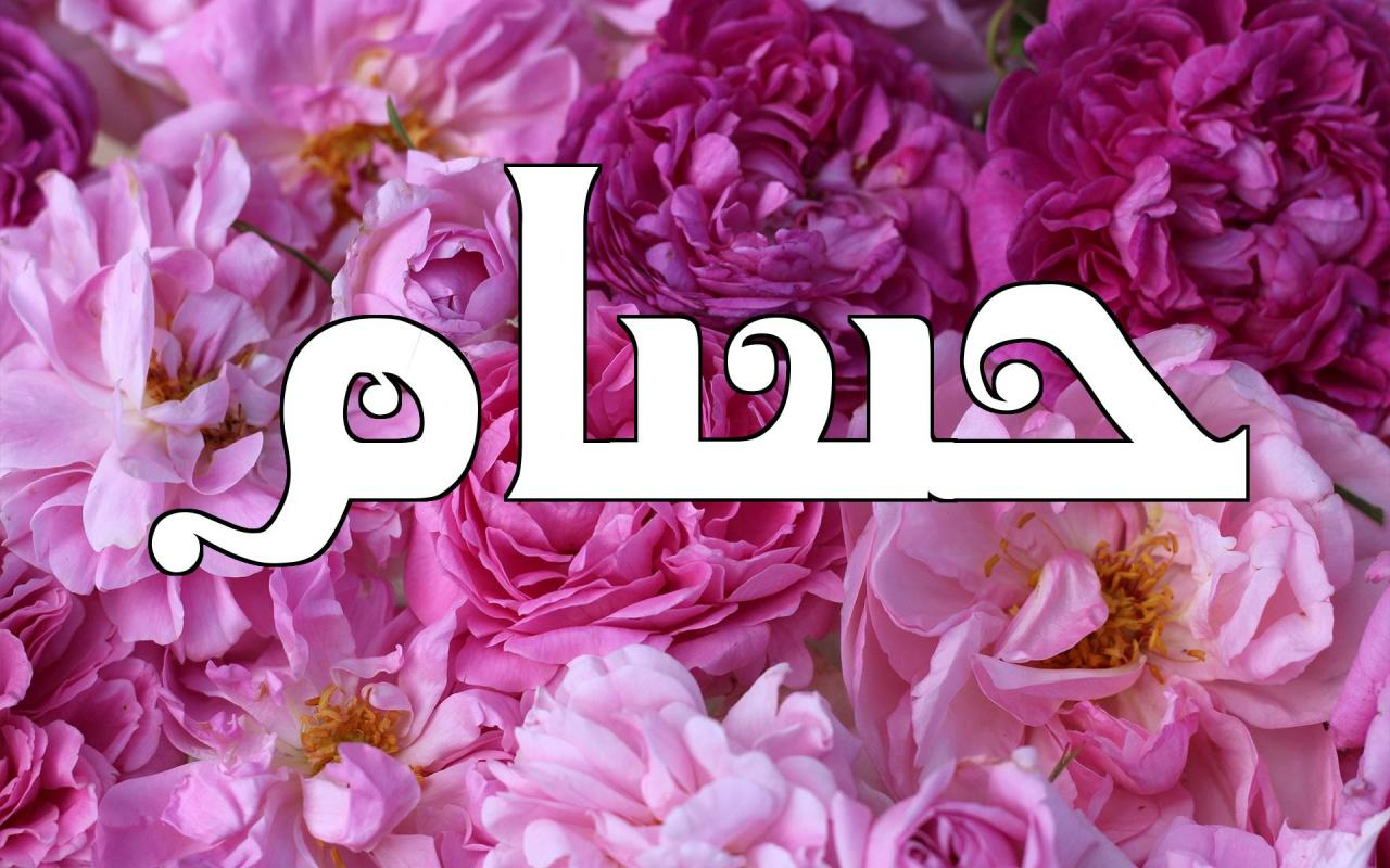 صورة معنى كلمة حسام , صفات ومعاني ولااروع لاسم حسام