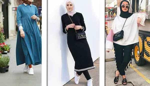 صورة ملابس كاجوال محجبات , تشكيلة روعة من اجمل واشيك الملابس للمحجبات