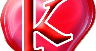 صورة حرف k مكتوب عليها , رمزيات رومانسيه بالانجليزى لحرف k