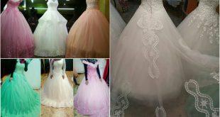 صورة فساتين زفاف مصرية , اروع الفساتين المصريه