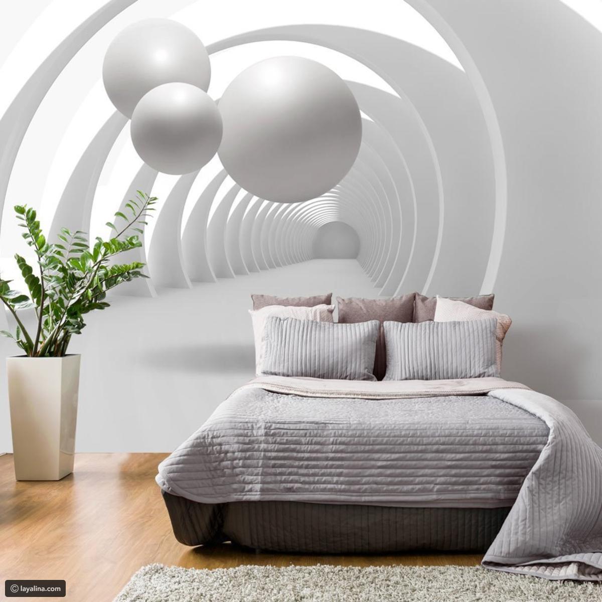 صورة ورق جدران لغرف النوم , اجمل ورق الجدران لغرف النوم