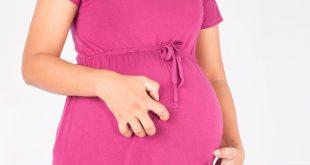 صورة حكة الجسم للحامل , شعور غريب اثناء الحمل تعرفى على اسبابه