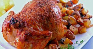 صورة عمل دجاج بالفرن , لو اطفالك بيحبو الدجاج قدميها بطرق صحيه