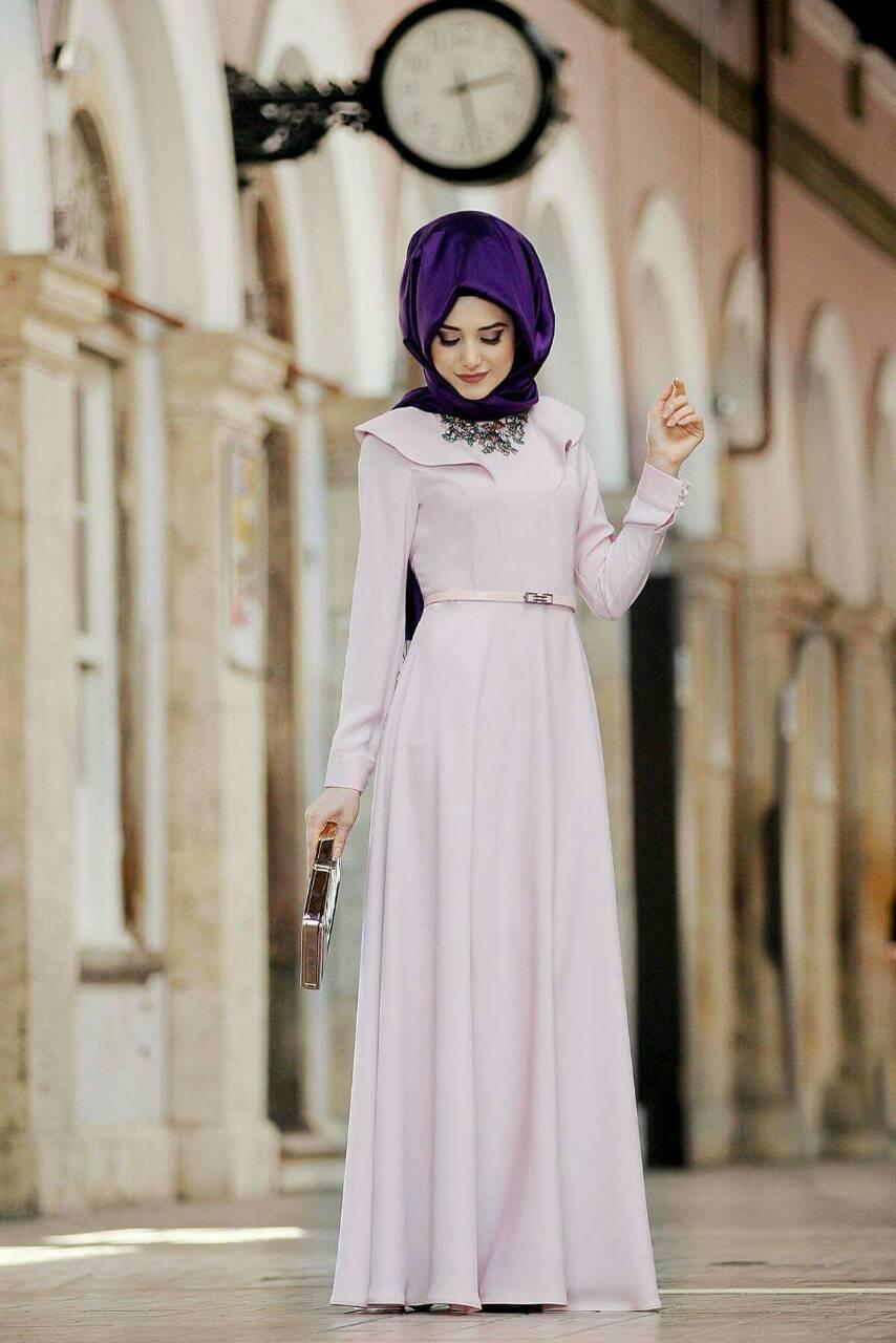 صورة ستايل حجاب تركي , موديلات العام الجديد علي الطريقه التركيه