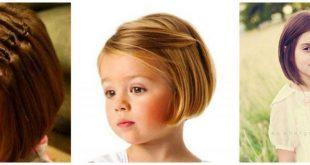 صورة تسريحات شعر قصير للاطفال , اطلاله لتسريحات كيوت للبنوته