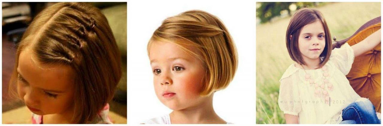 تسريحات شعر قصير للاطفال اطلاله لتسريحات كيوت للبنوته افخم فخمه