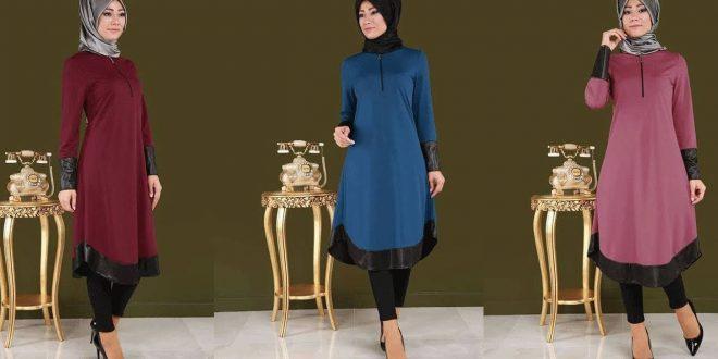 صورة ستايلات ملابس 2019 , اطلاله كلها اناقة مع استايل المراة المحتشمه