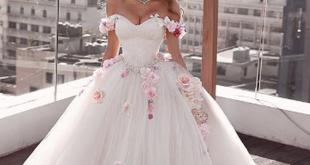 صورة فساتين اعراس لبنانية , لو محتاره بيوم زفافك اختارى الانسب لكى