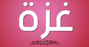 ما معنى كلمة غزة , اتعرف عن معاني الكلمات المعبرة