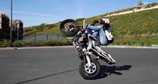صورة الدراجة النارية في المنام , تفسير رؤية العجلة النارية لابن سيرين