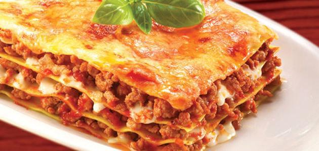 صورة طريقة عمل اللازانيا بالخضار , تعرفى على اشهر اكله ايطاليه بطريقه سهله