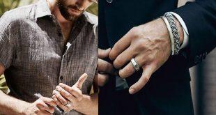 خواتم الزواج للرجال , للرجال اختار افضل خاتم زواج يناسب شخصيتك