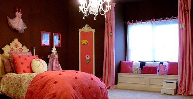 صورة ديكورات غرف نوم للصبايا , اجعلى غرفة بنتك كغرف اميرات ديزنى