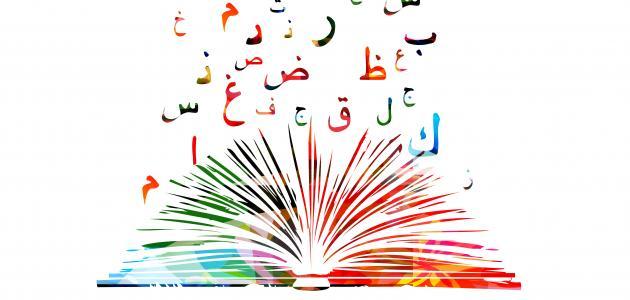 صورة كلمات باللغة العربية , لغتنا الجميله هي اللغه العربيه