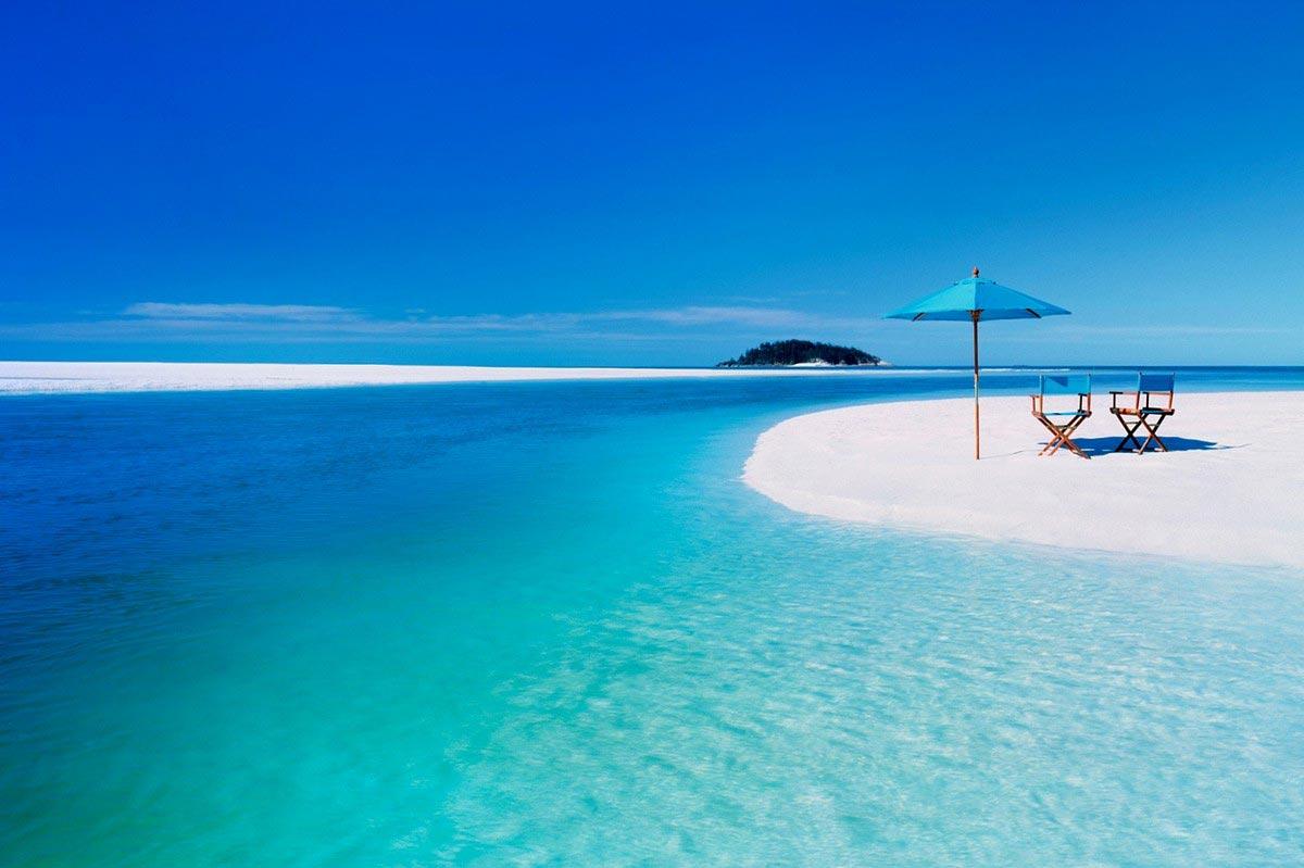 صورة احسن شواطئ في العالم   ,  خيال السياحه و المتعه علي اروع شاطئ