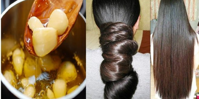 صورة تطويل الشعر بالثوم , اشهر الطرق لتطويل الشعر بشكل طبيعي