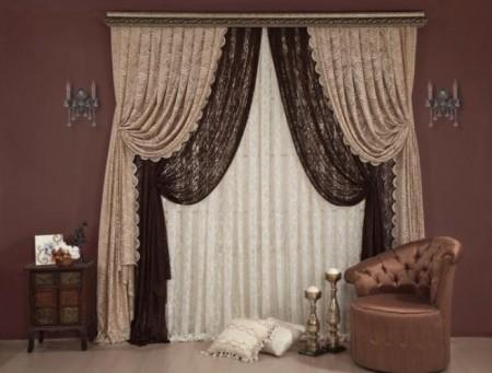 صورة كاش ريدو لغرف النوم , احدث ديكورات غرفة النوم ستائر كاش ريو